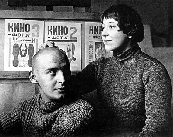 Aleksander Rodchenko and Varvara Stepanova, 1920s