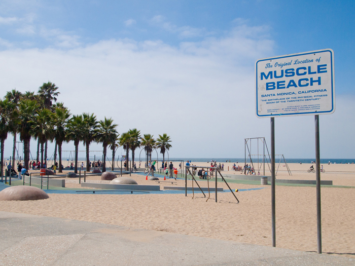 Muscle Beach, Santa Monica by T. Karaszewski, CC