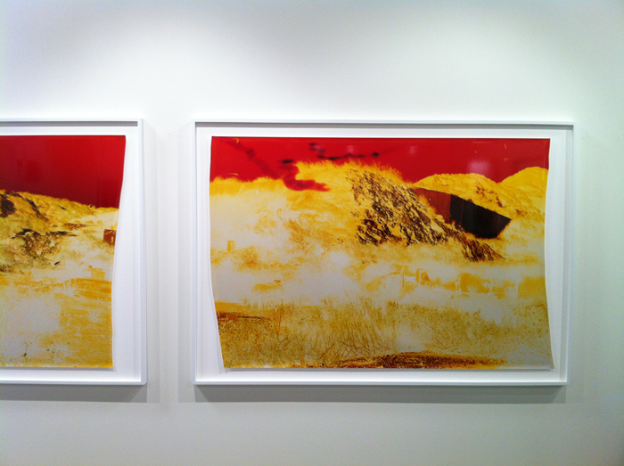 John Chiara, installation view, Rose Gallery booth, Paris Photo Los Angelese