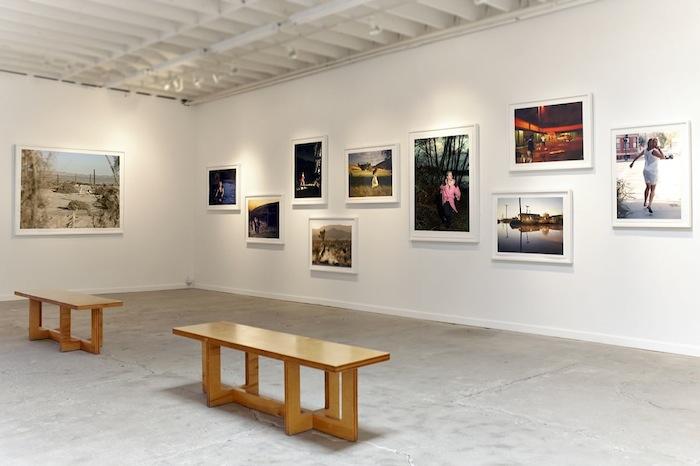 Tabitha Soren, Running, installation view at Kopeikin Gallery, Los Angeles