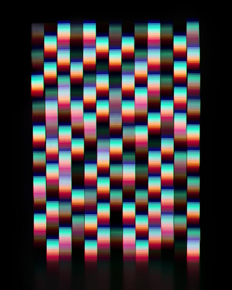 (8) Press Image l Jessica Eaton l Interpolation Dramatization RGB 8, 2012