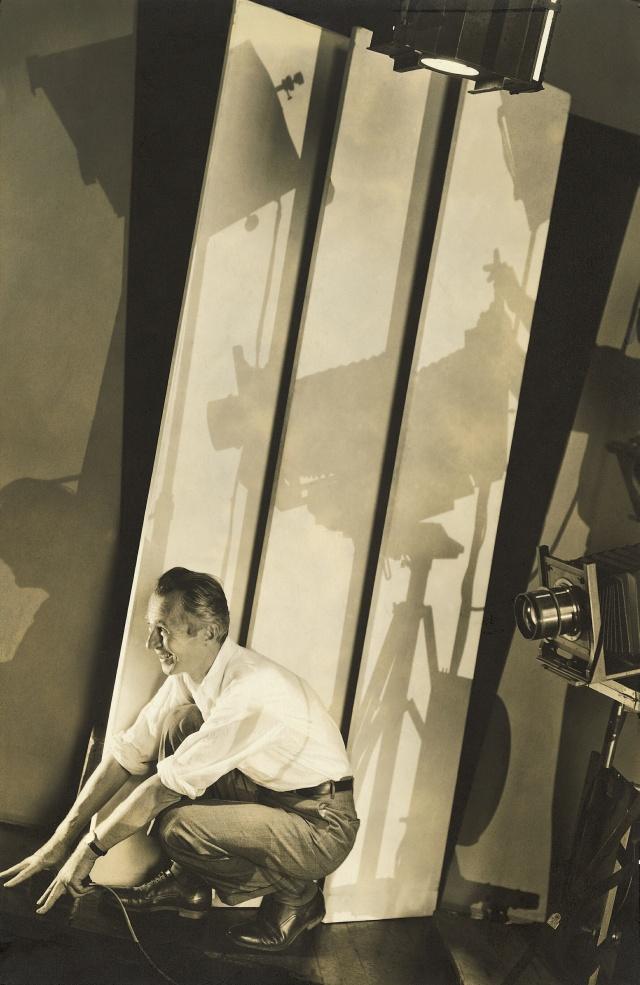 03_ Edward Steichen l Self-portrait with Photographic Paraphernalis, 1929