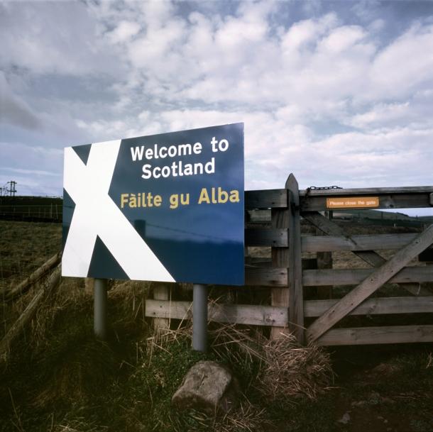 Scotland - Lamberton - A Fine Line