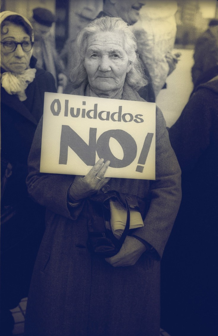 Protest of retired people, Montevideo, Uruguay, 1963 El Popular Private Collection Reproduction Authorized by Aurelio González and Centro de Fotografía
