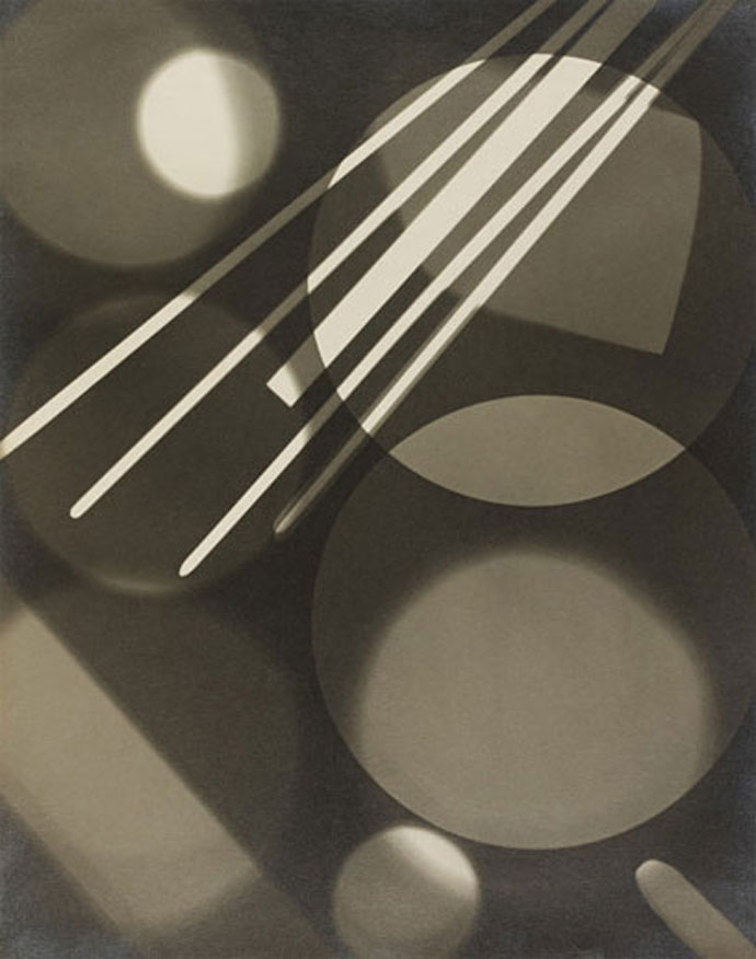 Curtis Moffatt, Circle and Radiating Lines, 1930